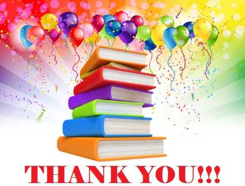 Thank you Library Volunteers!!!