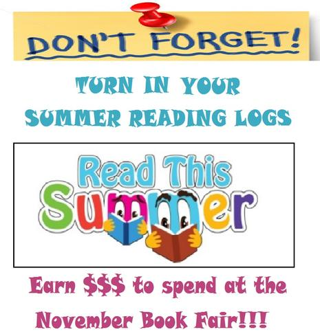 Summer Reading Reminder